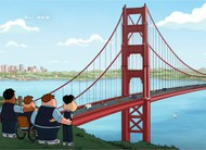 Family Guy visita San Francisco no trailer do episódio 15x10