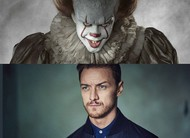 James McAvoy se machuca lutando com Pennywise no set de IT: Capítulo 2